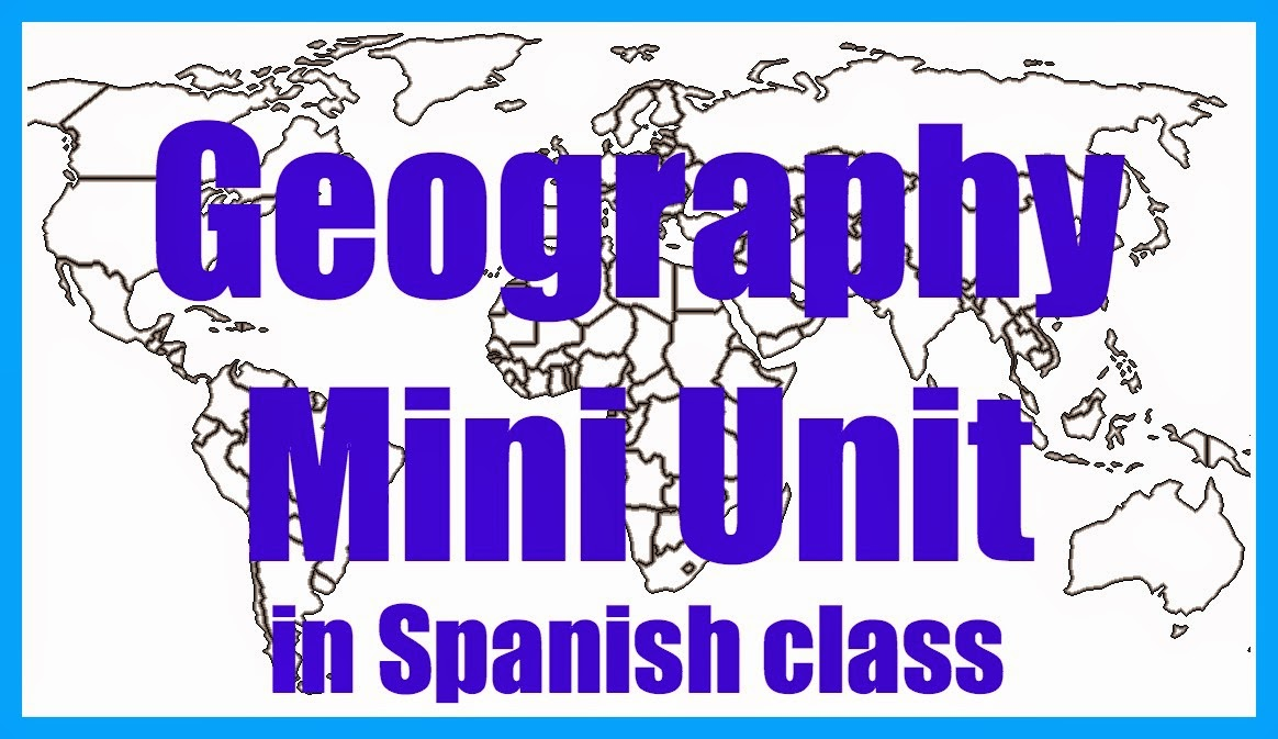 Geography Mini Unit