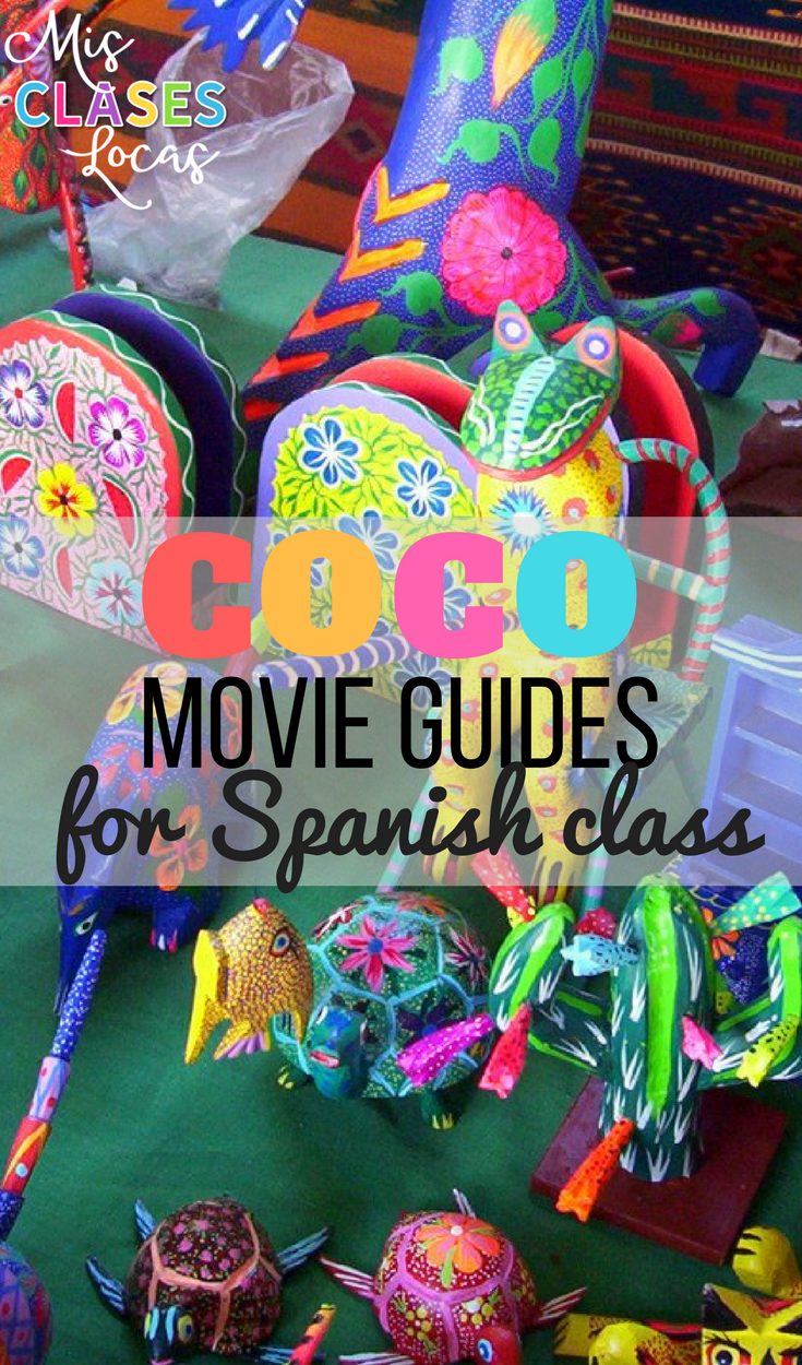 Coco - Movie guide for Spanish class