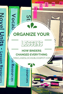 Organization Tip – Lesson Binders