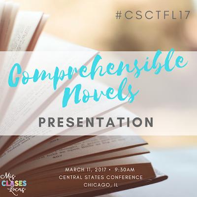 CSCTFL17 - Comprehensible Novels to Increase Proficiency