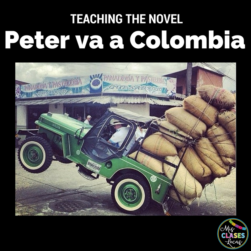 Teaching the Novel Peter va a Colombia