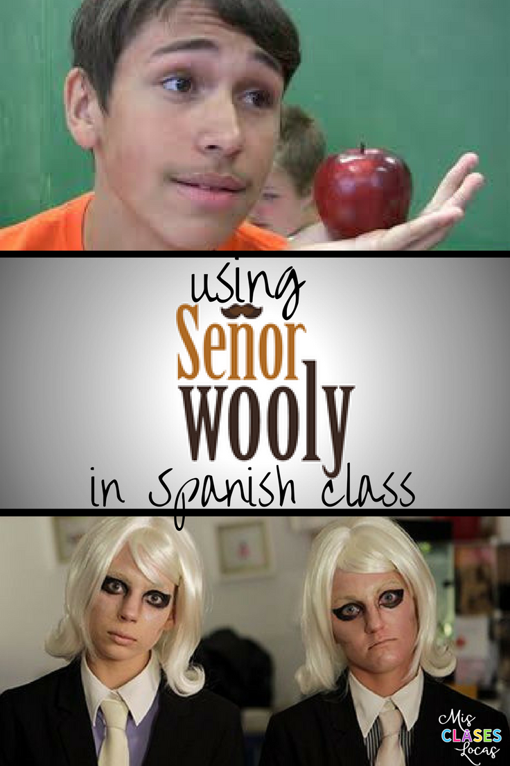 Using Sr. Wooly in Spanish Class