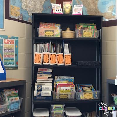 Spanish Classroom Library Tour 2017 - Mis Clases Locas