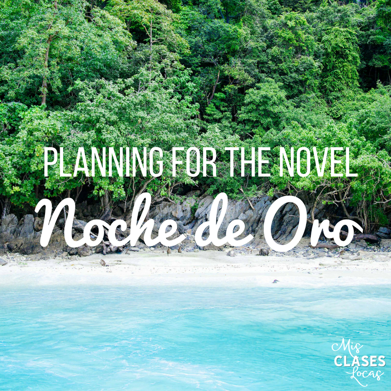 Resources for teaching Noche de Oro