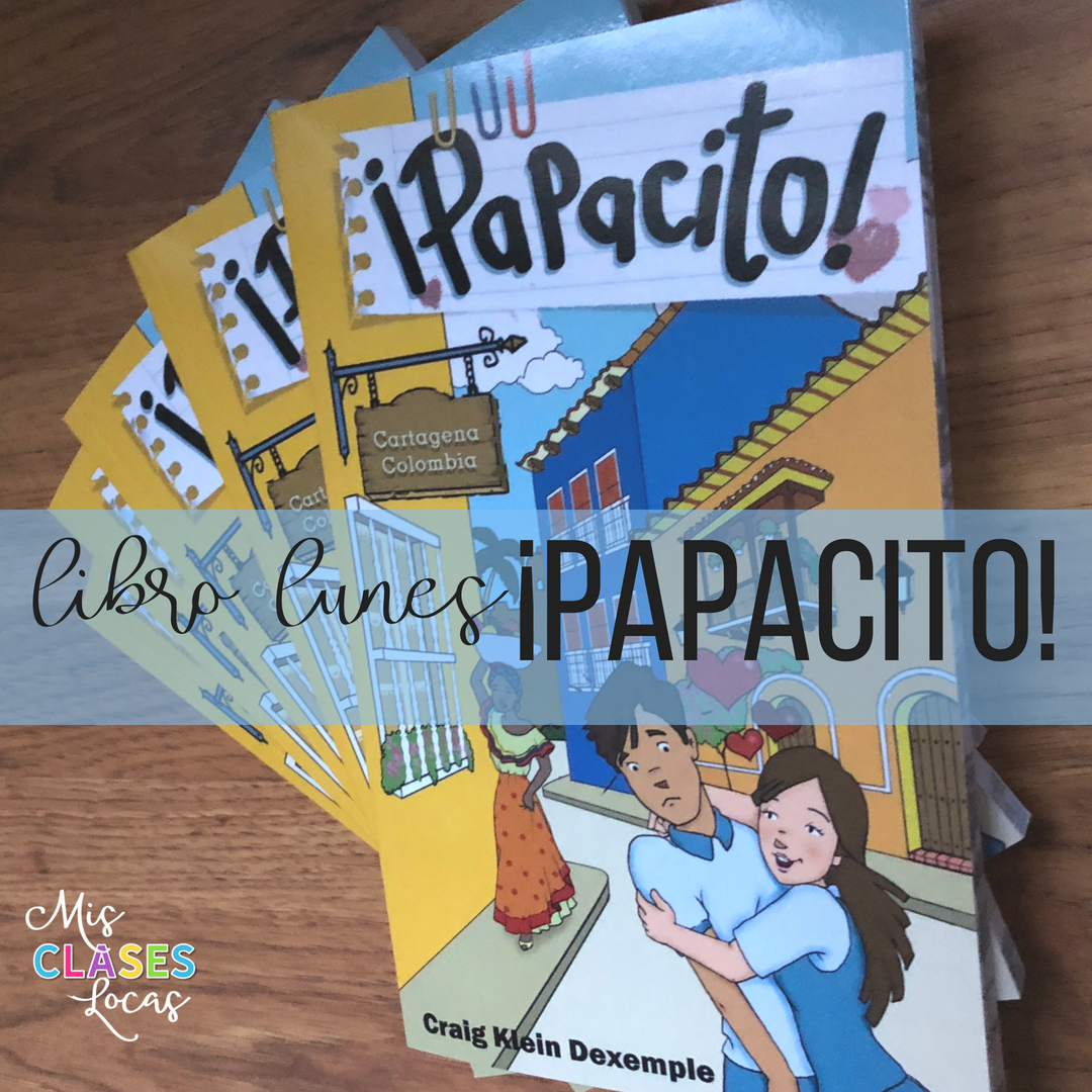 libro lunes: ¡Papacito! - a review share by Mis Clases Locas