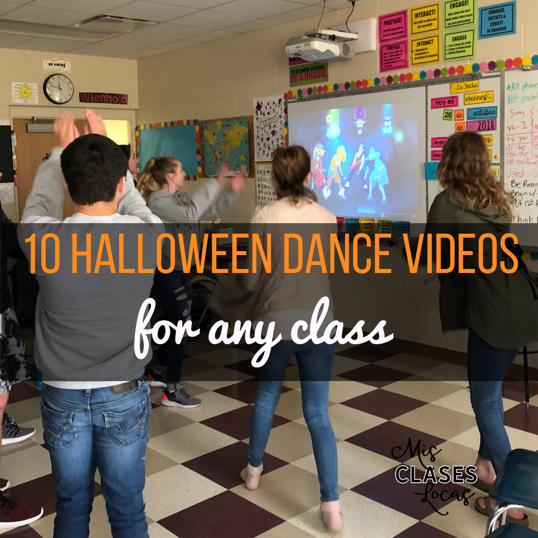 Halloween dance videos for any class