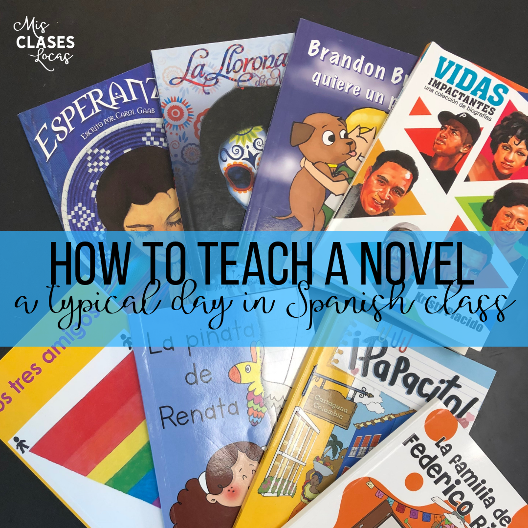 How to teach a novel – typical day