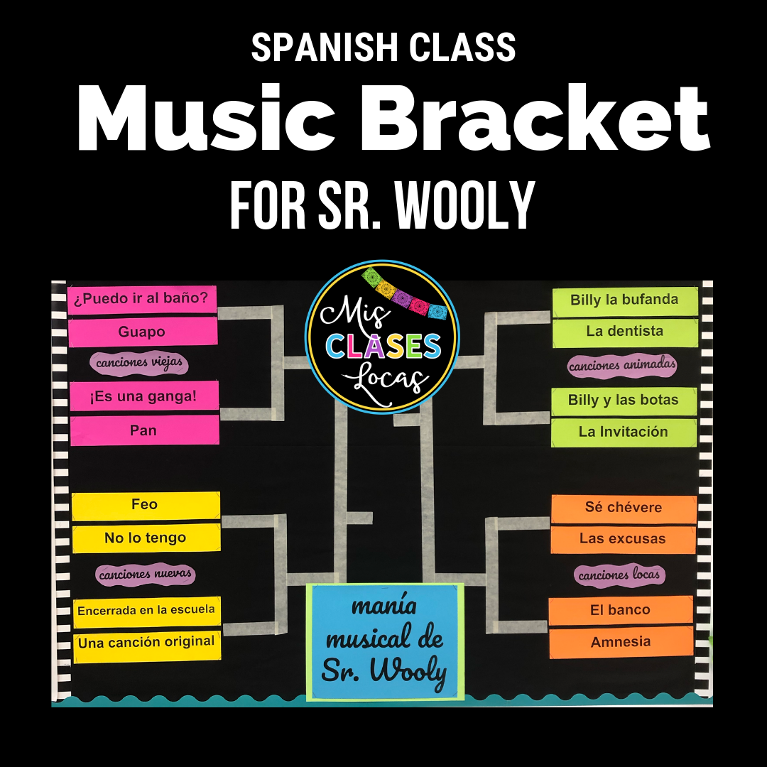 Sr. Wooly music bracket