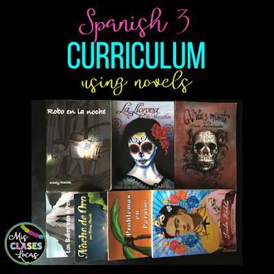 Mis Clases Curriculum - Spanish 1-4