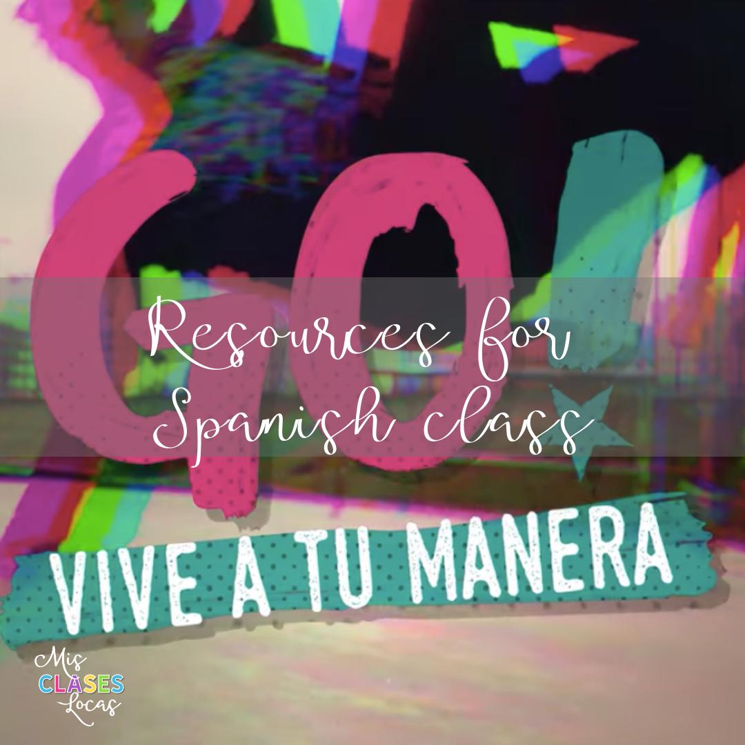 Go! Vive a tu Manera in Spanish class