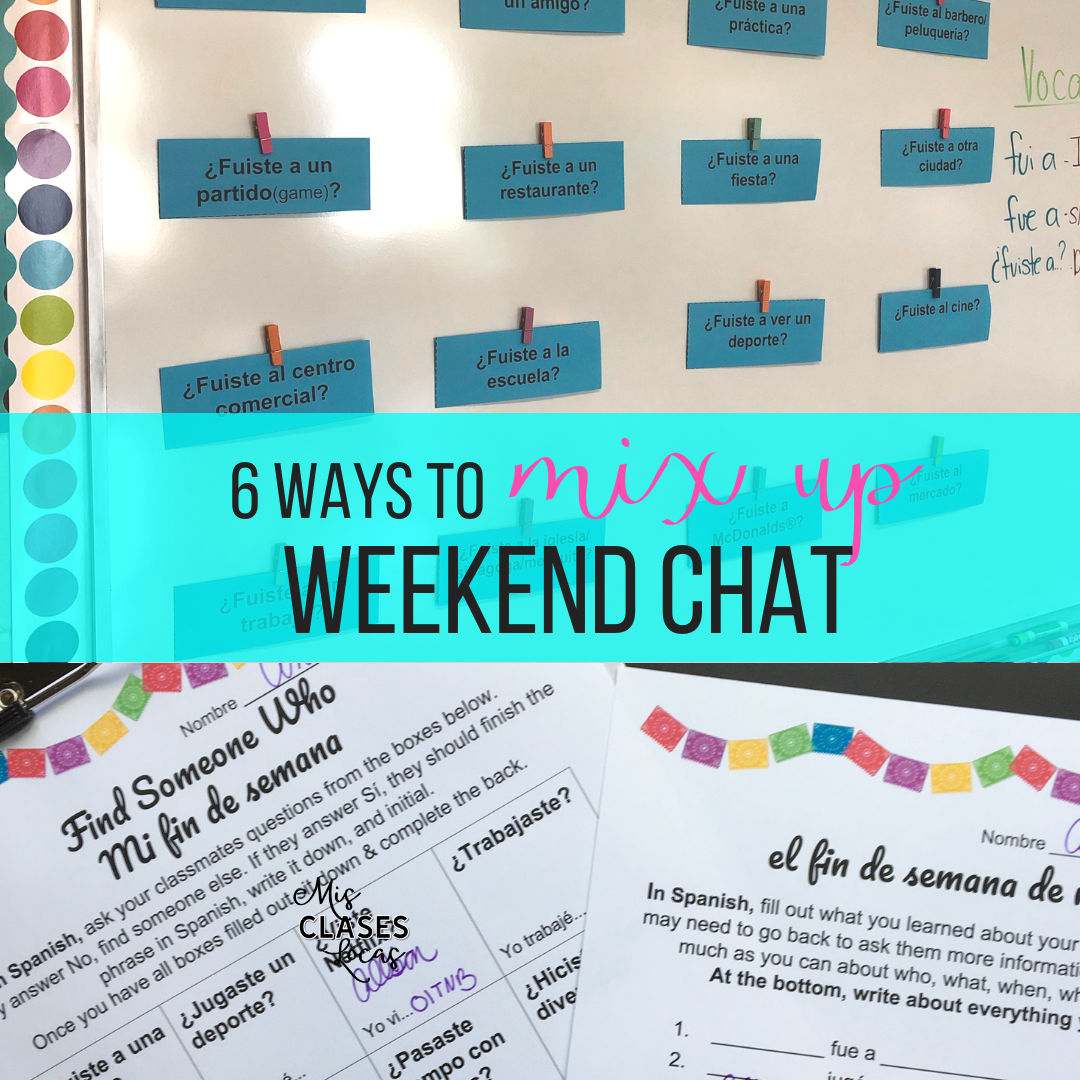 Weekend Chat 6 Ways to Mix Up Weekend Talk