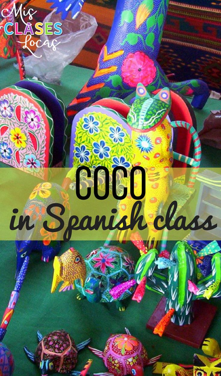 Coco in Spanish Class