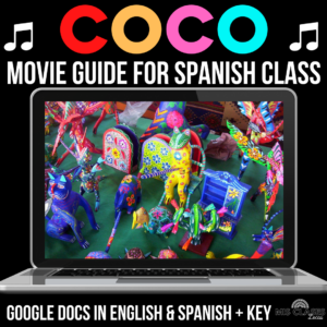 Movie Guide for the film Coco shared by Mis Clases Locas