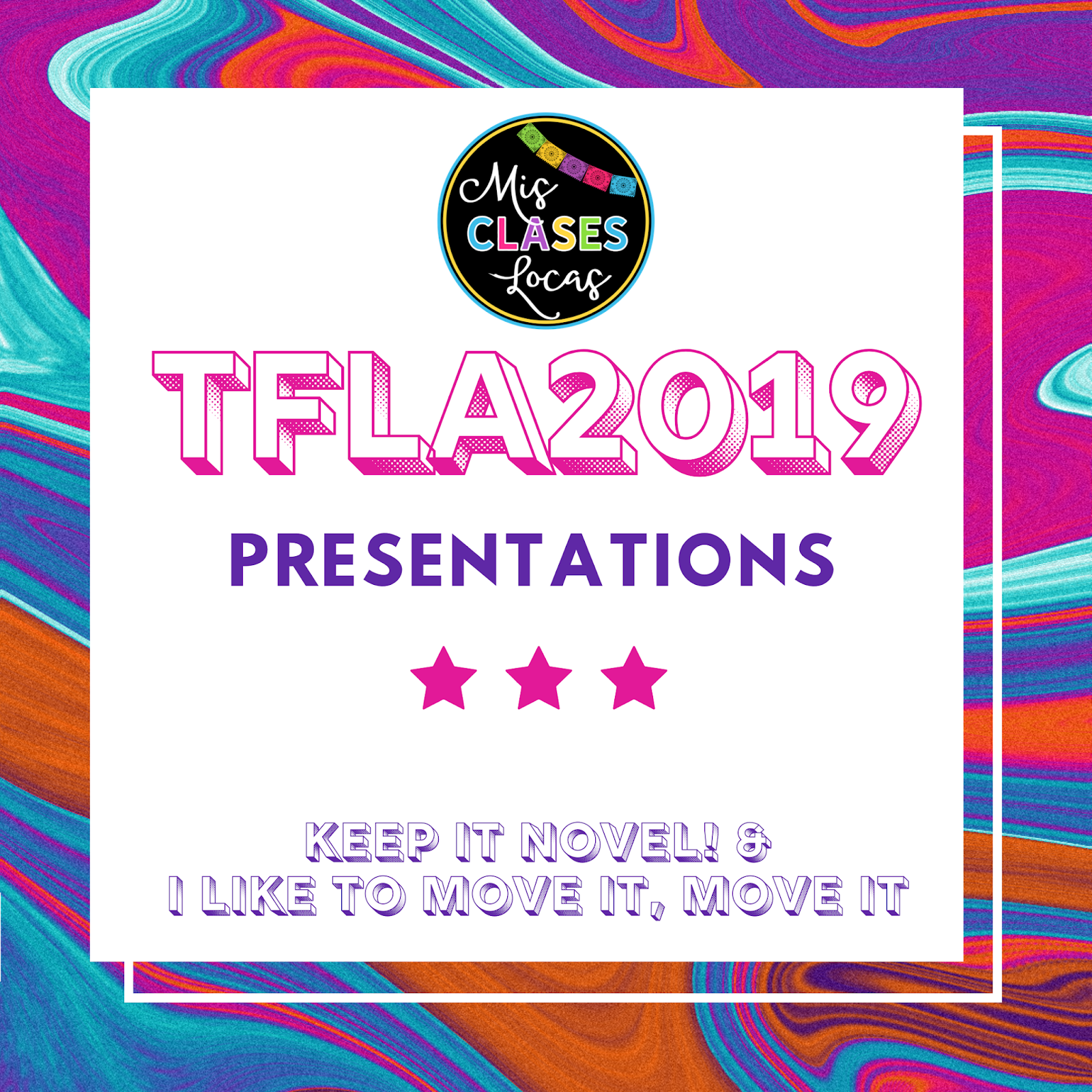 #TFLA2019 – Session Resources for teaching with novels and movement in class