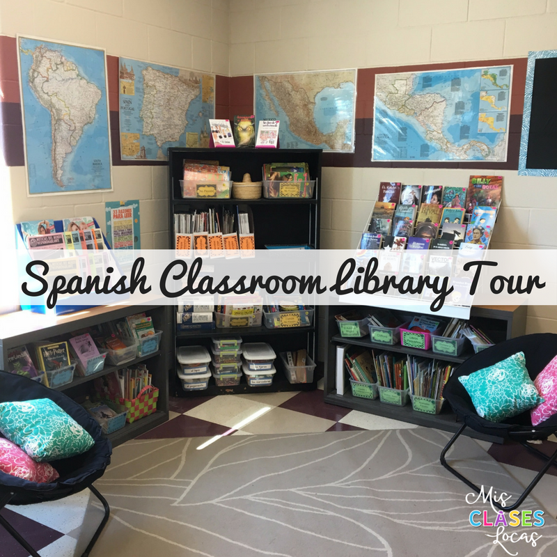 Classroom Library Your - Mis Clases Locas