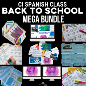 Back to School Mega Bundle for Spanish Class from Mis Clases Locas