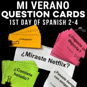 1st Day of Spanish
