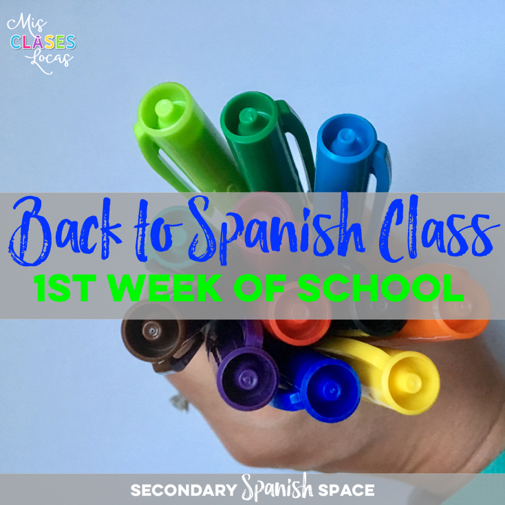 Lista lunes - Back to Spanish Class