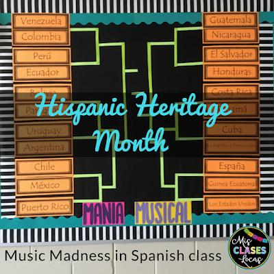 Hispanic Heritage Month Music Madness!