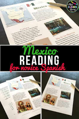 Reading for novice Spanish - Mexico & Day of the Dead