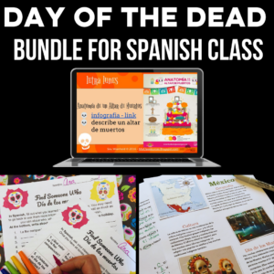Day of the Dead bundle for Spanish class Mis Clases Locas