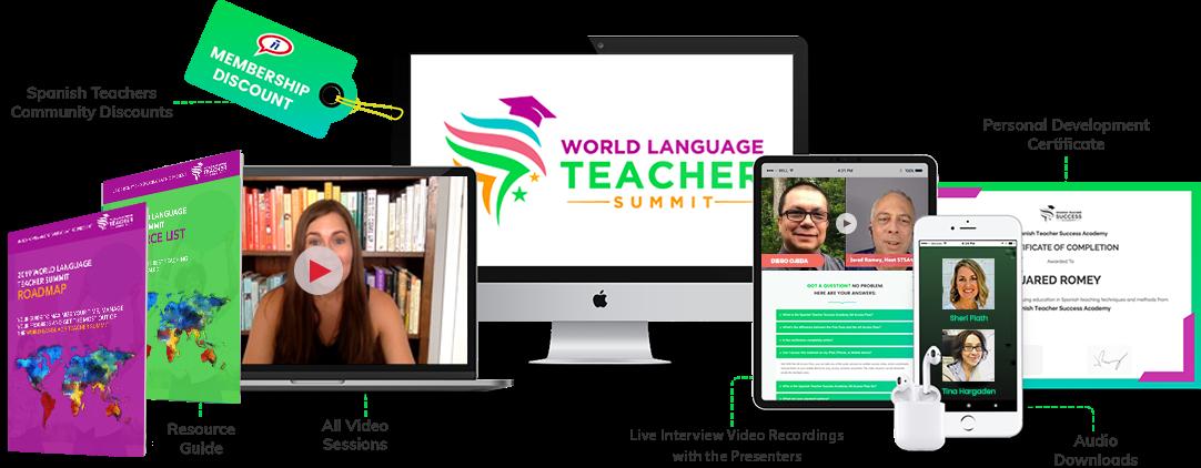 World Language Teacher Summit  - online summer professional development for World Language teachers
