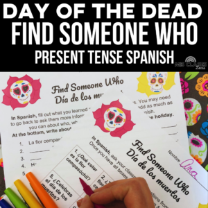 Day of the Dead Find Someone Who from Mis Clases Locas