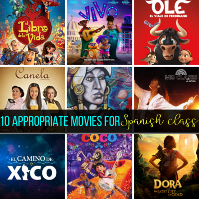 10 Appropriate movies for Spanish class shared by Mis Clases Locas