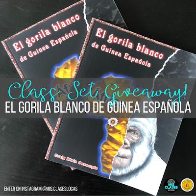El Gorila Blanco class set of books giveaway!