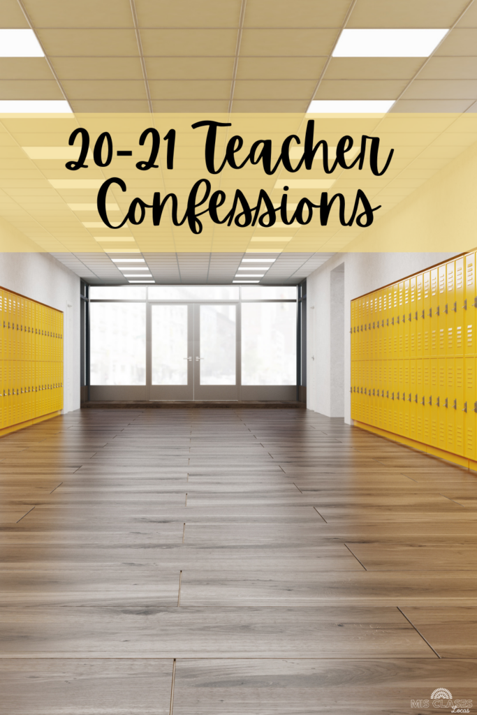 Spanish teacher confessions. 10 things teachers are thinking this year, but are too afraid to say out loud. #highlightREAL shared by Mis Clases Locas