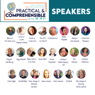 Comprehensible Input – Practice & Comprehensible Conference – Free Virtual