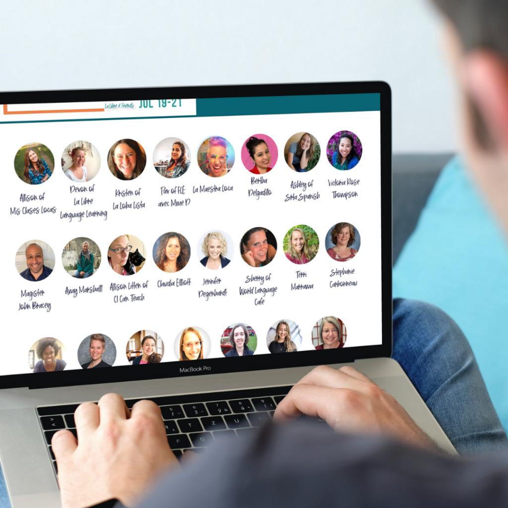 Virtual professional development for World Language teachers