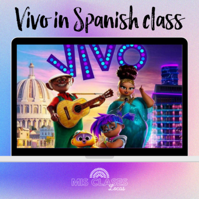 Vivo Netflix movie in Spanish class