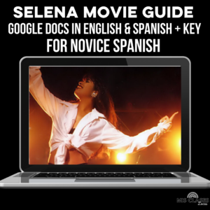 Selena Movie guide for Spanish class